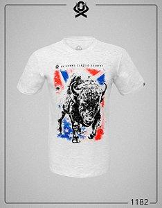Camiseta Cinza Bisão 1182 - Ox Horns