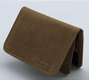 CARTEIRA CINCOW GRAXO/ MARROM 9183