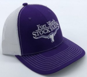 BONE IMPORTADO FORT WORTH ROXO E BRANCO