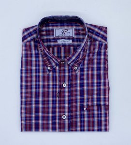 CAMISA RIVERTON COD 030 COR 437 MANGA CURTA