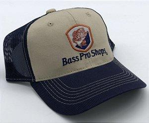 Bone Bass Pro Shops Bege-Azul