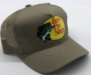 BONE BASS PRO SHOPS BEGE ESTAMPADO