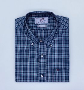 CAMISA RIVERTON COD 030 COR 471 MANGA CURTA
