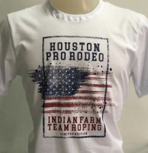 CAMISETA INDIAN FARM BRANCA HOUSTON