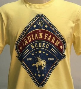 CAMISETA INDIAN FARM AMARELA RODEO