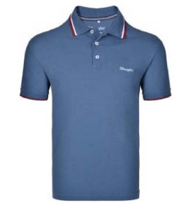 CAMISETA POLO WRANGLER AZUL WM9042