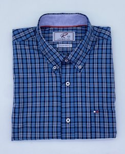 CAMISA RIVERTON AZUL 030/525 REGULAR FIT