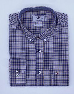 CAMISA RIVERTON XADREZ ML 020476 SLIN FIT