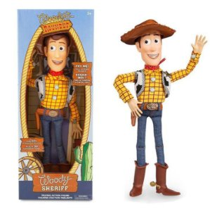 Boneco Woody do Toy Story Falante 43 cm