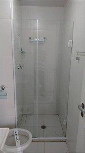 Box de Banheiro Porta de Abrir Vidro Temperado