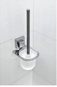 Escova Sanitária Com Suporte Fixação Por Ventosa - Linha Smartloc LOC712