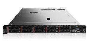 SERVIDOR LENOVO SR630 SFF Intel Xeon Silver 4110 8C 2.1GHz, 32GB RAM, Sem disco, RAID 930-8i, 2x fontes 550W (sem sistema operacional)
