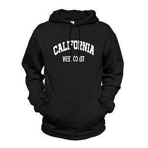Moletom Estampado California Flanelado Unissex Lucas Lunny Canguru