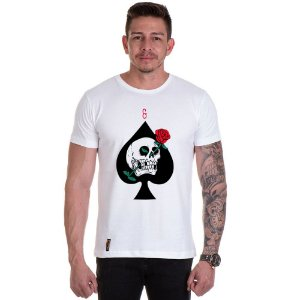Camisa Camiseta Personalizada Carta Love Death