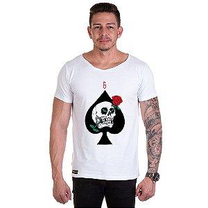 Camisa Camiseta Personalizada caveira Love Deat