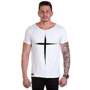 Camisa Camiseta Personalizada Cruz Traço