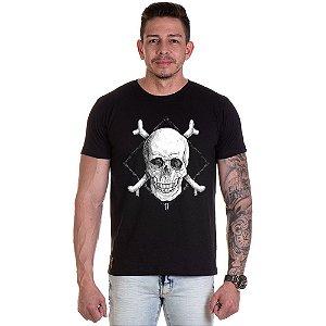 Camisa Camiseta Personalizada Caveira osso x