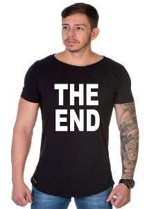 Camiseta Lucas Lunny Oversized Longline The End