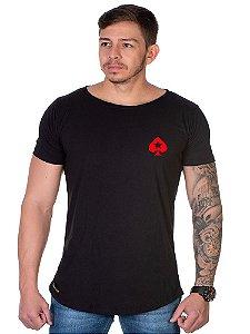 Camiseta Lucas Lunny Oversized Longline Poker stars