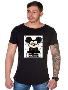 Camiseta Lucas Lunny Oversized Longline Mikey