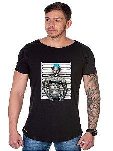 Camiseta Lucas Lunny Oversized Longline Seu Madruga