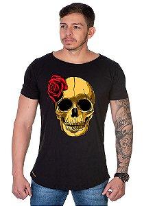 Camiseta Lucas Lunny Oversized Longline Boca Rosa