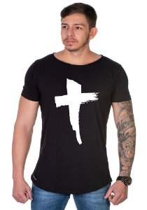 Camiseta Lucas Lunny Oversized Longline Cruz 2