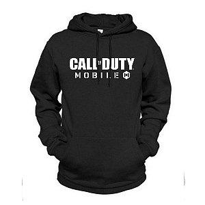 Moletom Basico Estampado Call Of Duty Mobile Unissex Lucas Lunny Canguru Capuz