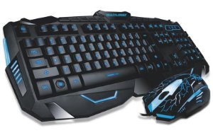 Mouse + Teclado Gamer Multilaser Lightning