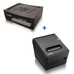 Kit SAT Fiscal Elgin + Impressora Não Fiscal Elgin i9