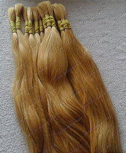 Cabelo Ondulado Indiano Descolorido 60 cm (25gr)