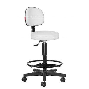 Cadeira Mocho Alto Estética, Fisioterapia, Odontologia Secretária Cadeira Brasil CB 1626