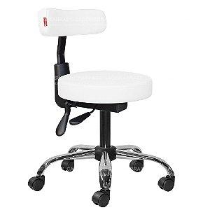 Cadeira Mocho Ergonômico Estética, Fisioterapia, Odontologia Slim Cadeira Brasil CB 1532