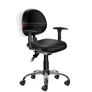 Cadeira Ergonômica Com Braços Várias Cores Cb25