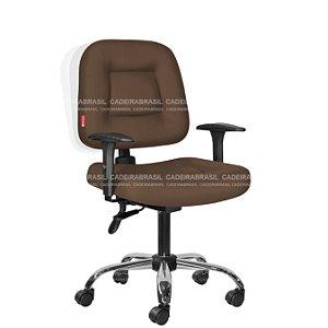 Cadeira Escritório Executiva Ergonômica Siena Plus CB 1452