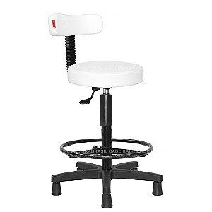 Cadeira Mocho Alto Estética, Fisioterapia, Odontologia Slim Cadeira Brasil CB 1550