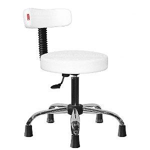 Cadeira Mocho Estética, Fisioterapia, Odontologia Slim Cadeira Brasil CB 1554