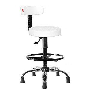 Cadeira Mocho Alto Estética, Fisioterapia, Odontologia Slim Cadeira Brasil CB 1559