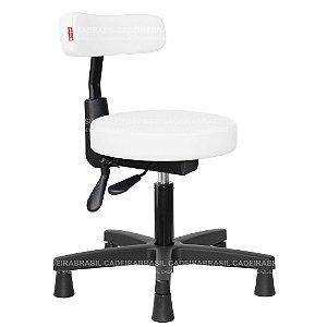 Cadeira Mocho Ergonômico Estética, Fisioterapia, Odontologia Slim Cadeira Brasil CB 1541