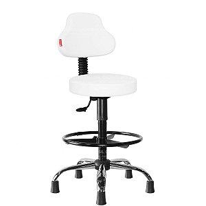 Cadeira Mocho Alto Estética, Fisioterapia, Odontologia Plus Cadeira Brasil CB 1591