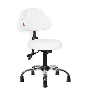 Cadeira Mocho Ergonômico Estética, Fisioterapia, Odontologia Plus Cadeira Brasil CB 1595