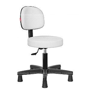 Cadeira Mocho Estética, Fisioterapia, Odontologia Secretária Cadeira Brasil CB 1625