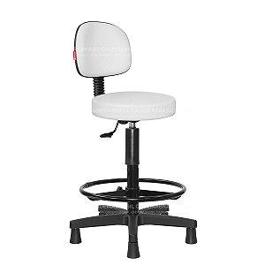 Cadeira Mocho Alto Estética, Fisioterapia, Odontologia Secretária Cadeira Brasil CB 1633