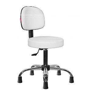 Cadeira Mocho Estética, Fisioterapia, Odontologia Secretária Cadeira Brasil CB 1627