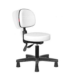 Cadeira Mocho Ergonômico Estética, Fisioterapia, Odontologia Secretária Cadeira Brasil CB 1637