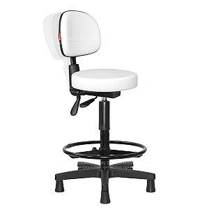 Cadeira Mocho Alto Ergonômico Estética, Fisioterapia, Odontologia Secretária Cadeira Brasil CB 1629