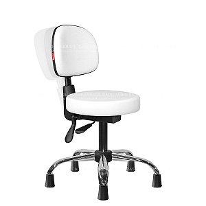 Cadeira Mocho Ergonômico Estética, Fisioterapia, Odontologia Secretária Cadeira Brasil CB 1638
