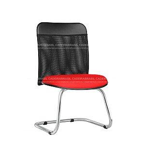 Cadeira Fixa Interlocutor Atendimento New Tela CB 2023