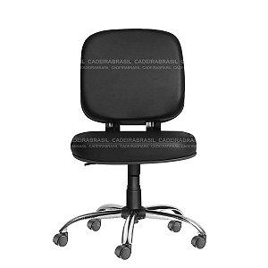Cadeira Diretor Giratória - Base Cromada - Suporta 150 kg - Bigger CB 703