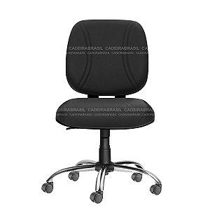 Cadeira Diretor Plus Giratória - Base Cromada - Suporta 150 kg - Bigger CB 704